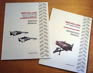 New Holland 477 Haybine Mower Conditioner Operator s And Service repair Manual