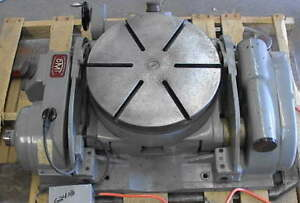 600 Pound Tilting Optical Rotary Table 16 Precision