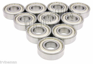 10 Stainless Steel Ball Bearings 8x16x6 8mm X 16mm 6mm