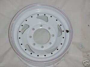 17 Cragar true Spoke Wagon Wheel White New