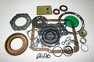 Gm Powerglide Banner Rebuild Kit With Steel Plates Clutches Gasket Overhaul Set