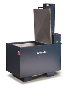 Graymills Aqueous Parts Washer Heated With Agitating Platform