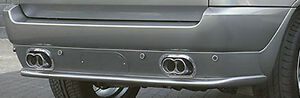 Bmw E53 X5 2000 2006 Ac Schnitzer Brand Oem Rear Apron For Pdc New
