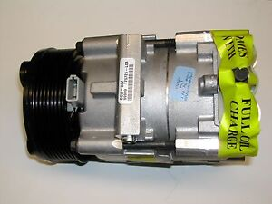 New Ac A C Compressor Ford Expedition Econoline 1997 1998 1999 2000 2001