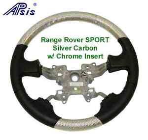 Range Rover Sport Silver Carbon Custom Steering Wheel