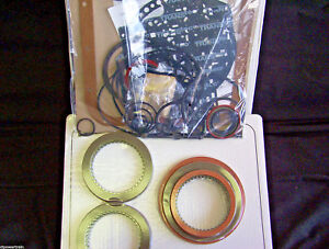 4l80e Rebuild Kit With High Energy Frictions 1991 on Transtec Overhaul Banner