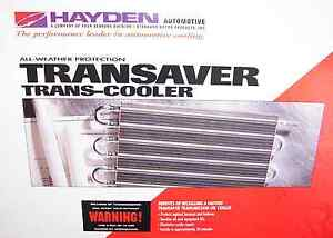 Hayden 405 Transaver Ultra cool Automatic Transmission Oil Cooler Oc 1405 New Hd