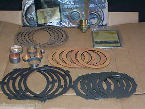 Aluminum Powerglide Alpg Master Rebuild Kit With New Steels Filter Bushing Set