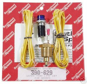 New Southwest Speed Water Temperature Warning Light Kit
