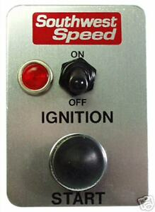 New Racing Std Switch Panel W Light Toggle Button