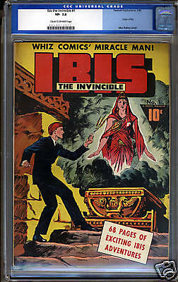 Ibis The Invincible #1 Cgc 7.5 Vf- Universal Cgc #0028213013
