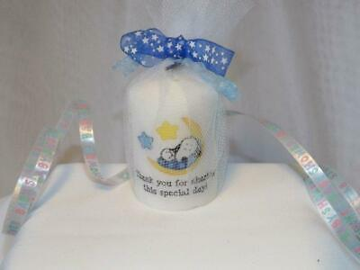 Baby Snoopy Votive Candle Favors - Snoopy Baby Shower, Birthday Candle Favors