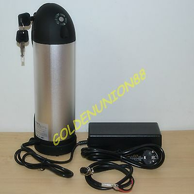 36v Li-ion Battery + Charger For Kettle Bottle Electric Bicycle E-bike Expedit