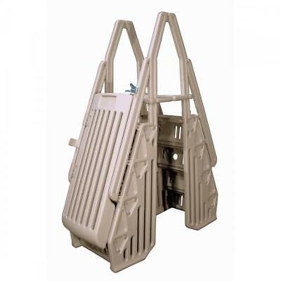 New Bluewave Steps, Ladders & Fencing Ne115t Taupe Neptune A-frame Entry System
