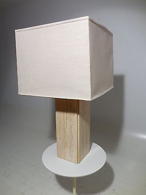 Raymor Travertine Lamp 60