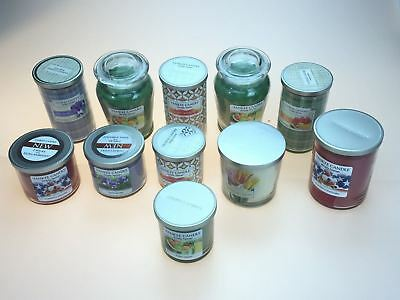 10 Pcs Yankee Candle Jars Large And Medium Comes With Different Scent, Plus Gift