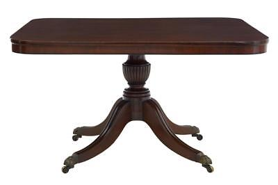 19th Century Mahogany And Ebony Breakfast Table