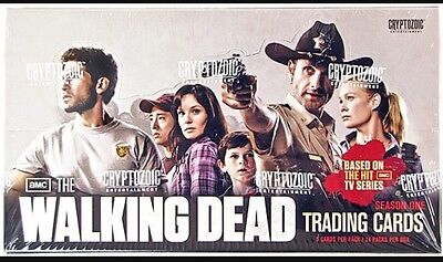 The Walking Dead Trading Card Season 1 Cryptozoic Full Unopened Box Sealed 2011