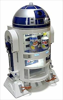 Star Wars R2-d2 Drink Cooler Promotion By Pepsi Limited 2000 Figure From Japan