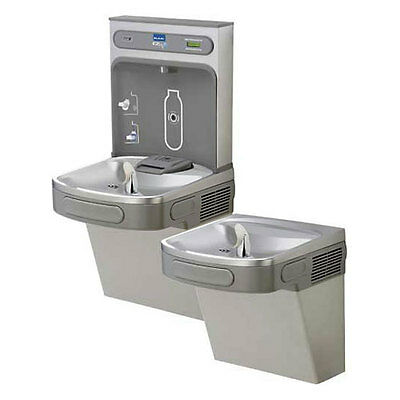 Elkay Ezh20 8 Gph Filtered In-wall Recestainless Steeled Water Bottle Filling St