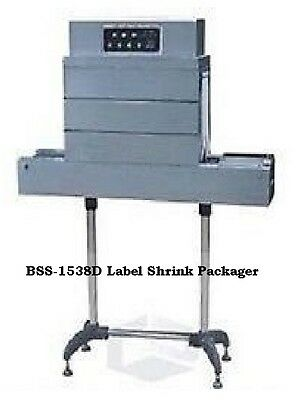 Bss-1538d Thermal Shrink Tunnel 220v Max 14 Inch Tall By 6 Inch Wide Full Bottle