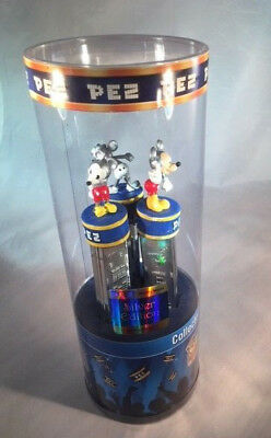 Pez Limited Edition Silver Mickey Mouse Set Of 3