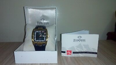 Everswiss Original Certified Gold Plated Watches For Men With Box And Paper