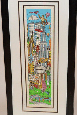 """Charles Fazzino, """"a Slice Of New York"""" 3d Pop Art - Signed & Numbered"""