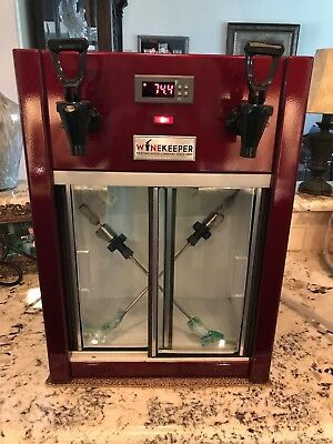 Wine Keeper Thermal Cooler 2 Bottle Burgundy Mint Retail @ $1350