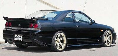 nissan skyline r33 gts do style frp rear bumper protecter accessories trim