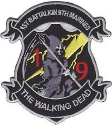 Usmc 1st Battalion 9th Marines The Walking Dead Patch New!!!