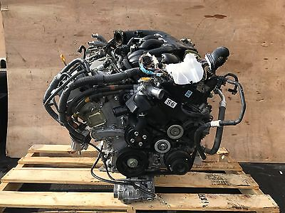 Lexus 06-13 Is250 Rwd Engine Motor Block Assembly V6 2.5l 4gr Harness 100k Oem