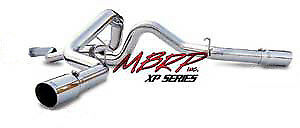 """06-07 Gm 6.6l Duramax Mbrp 4"""" Dual Xp Series Cat-back Exhaust System."""