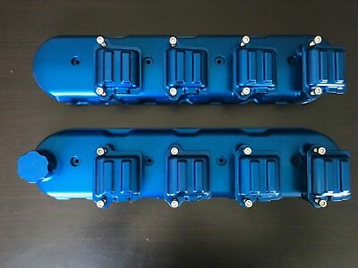 Ls1 Blue Billet Valve Covers With Coil Covers