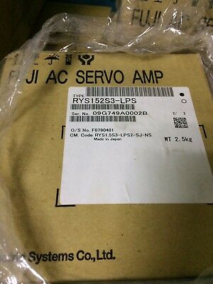 Fuji Ac Servo Driver Rys152s3-lps Rys152s3lps Brand New Free Expedited Shipping