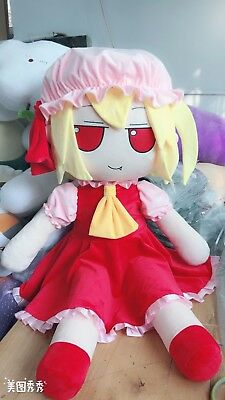 """New Cool Touhou Project Flandre Scarlet Stuffed Doll Throw Pillow Plush Toy 47"""""""
