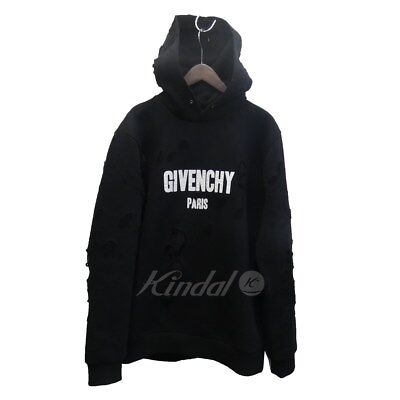 givenchy 18ss destroy logo pullover hoodies 069,024 stars (43590