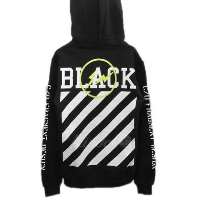 off white fragment design 16aw off black pullover hoodies xs 290418 (76640