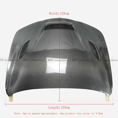 Fit 2017+ Alfa Romeo Giulia 952 S2 Style Carbon Fiber Vented Hood Wide Body Part