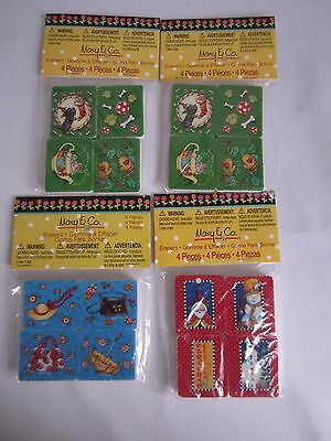Lot Of 16 Mary Engelbreit Erasers Christmas Stocking Stuffers Party Favors New