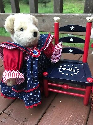 Free Xmas Shiprevere+ Betsy Ross+ Yankee Doodle + Chair + Embrodery Set+ Basket