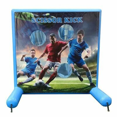 Kids Inflatable Soccer Air Frame Game 7