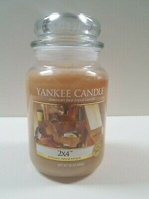 Yankee Candle - 2x4 22oz Man Cave Collection Brand New - Very Rare!!
