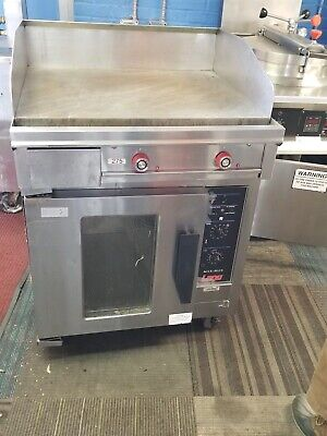 """Lang Rt30f- 30"""" Electric Range W/griddle & 1 12"""" Hot Plate 3 Phase"""