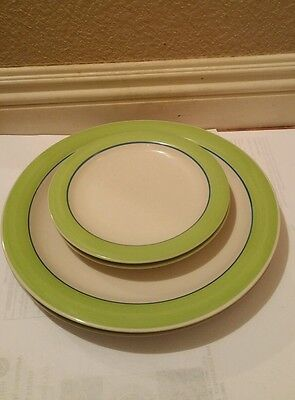 Gibson Housewares 2 Dinner & 2 Salad Plates