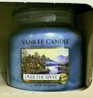 Set Of 2 Yankee Candle (14.5 Oz Gift Set)  Island Spa  & Over The River ~ Rare