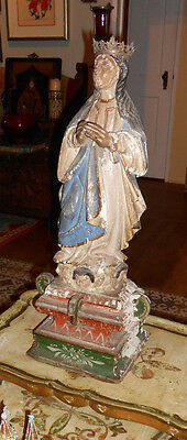 Extremely Rare 18th Century Mexican Santo