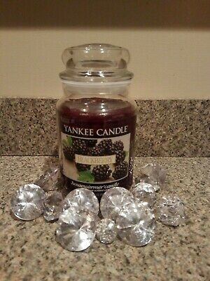 Yankee Candle Blackberry Scented Candle Housewarmer Label - 22 Oz. - New