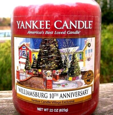Yankee Candle Williamsburg Village 10th Anniversary  Exclusive  22