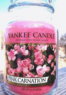 "Set Of 6 Yankee Candle ""pink Carnation"" Mother"